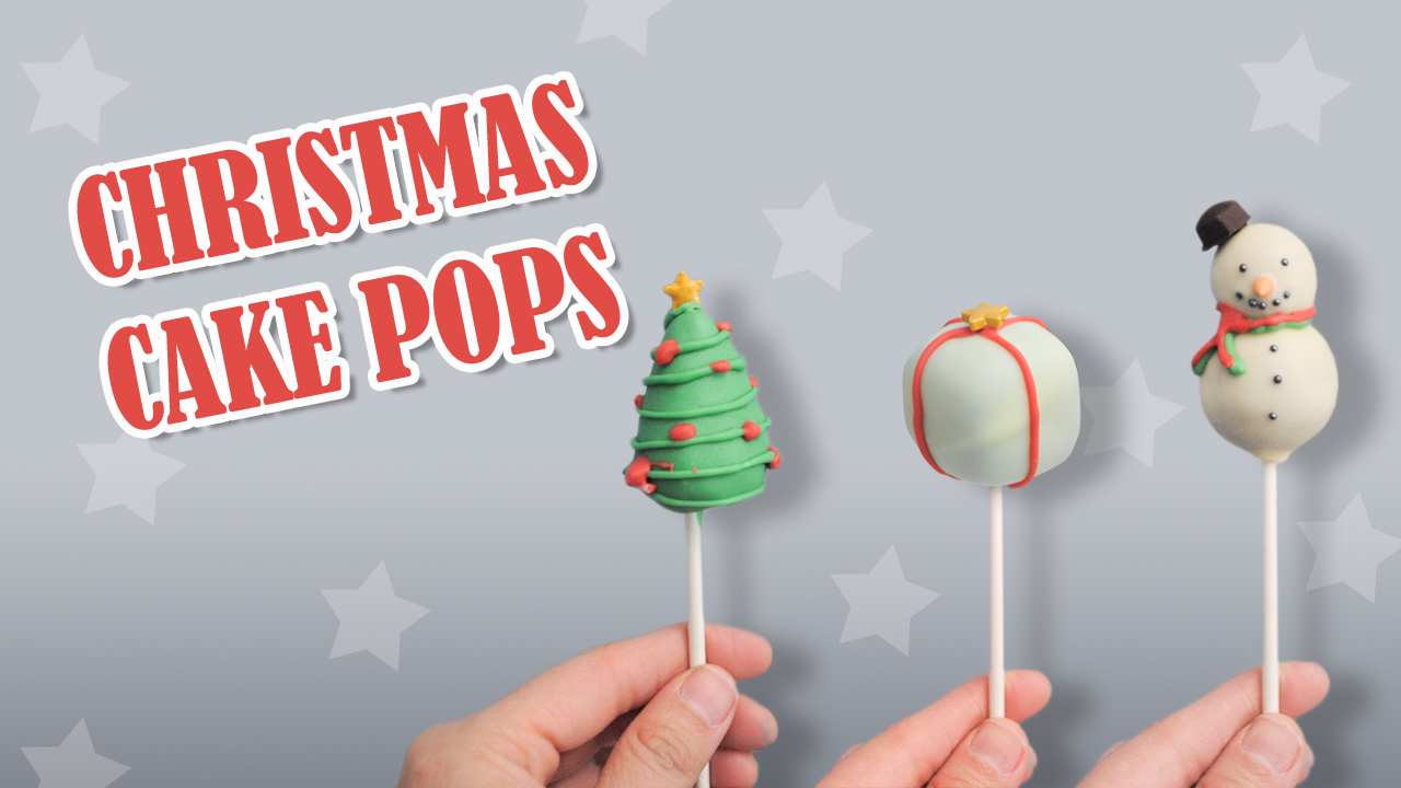 How to make Chirstmas cake Pops