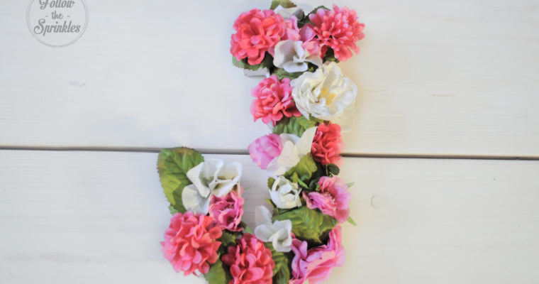 DIY Flower Letter box